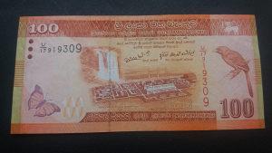 Šri Lanka 100 rupija 2010