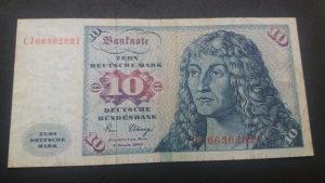 Njemačka 10 maraka 1980