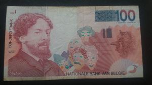 Belgija 100 franaka 1995