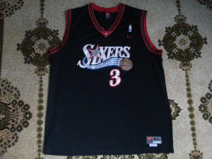 Dres Philadelphia 76ers-Iverson