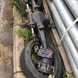 Prednja vuca traktor