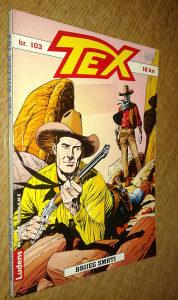Tex 103. Brijeg smrti