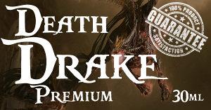 PREMIUM tečnost za e-cigarete DEATH DRAKE 30ml