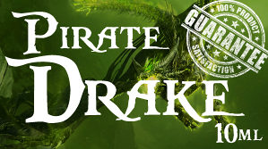 Tekućina za električne cigarete PIRATE DRAKE 10ml