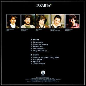 Jakarta - Maske za Dvoje LP ili Kaseta
