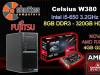 Fujitsu Celsius W380 - RX 550 4GB GAMING