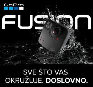 GoPro 5.2K KAMERA Fusion 360 (CHDHZ-103) Go Pro 4K