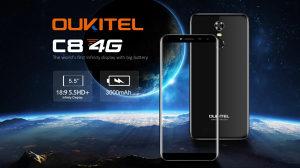 Oukitel C8 | 5.5inch | 2GB+16GB | 13Mpx | 3000mAh