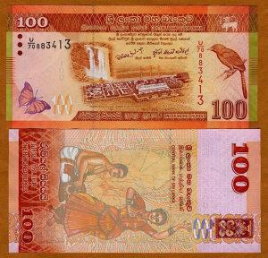 Šri Lanka 100 rupija 2010 UNC