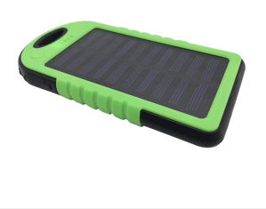 SOLARNI PUNJAČ Power Bank + LED LAMPA