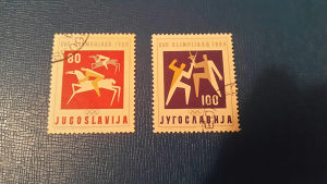 Stare markice iz 1960 g.Jugoslavija
