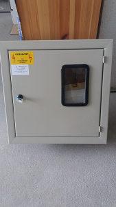 kutija za sat od struje