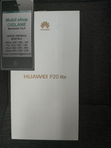 Huawei P20 lite plavi pink black(51 KM x 12 mjeseci)