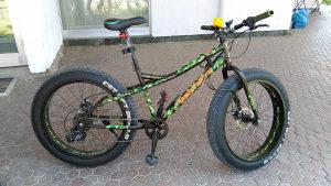 Biciklo Fat Bike
