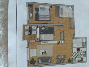 Odličan stan u izgradnji, 58,10 m2