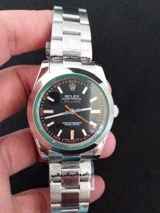Rolex Milgauss Black Dial Crystal