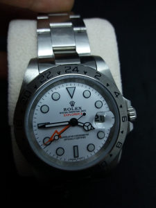 Rolex Explorer II Silver