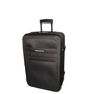 Kofer Srednji Tamno Sivi Prague 160068