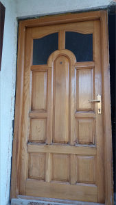 Vrata ulazna (puno drvo, hrast)