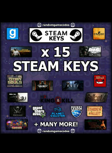 15 Random Steam Cd Key TOP