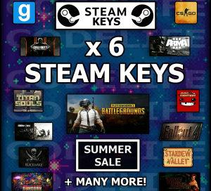 6 Random Steam Cd Key Igre Igrice