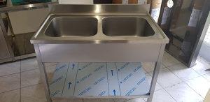 Inox sudoper sa dva korita