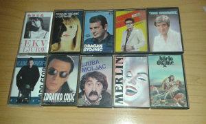Audio kasete lot 10 komada