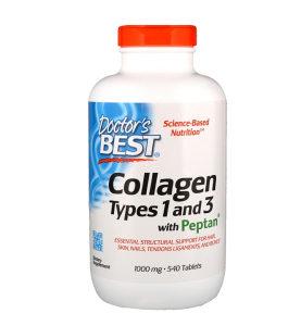 Collagen Type 1&3 / Kolagen tip 1&3 / 1000mg / 540 kaps