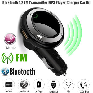 Handsfree Bluetooth FM Transmiter USB MP3 Transmitter