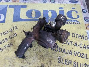TURBINA VW 1.9TDI, 77kW / GT1646V