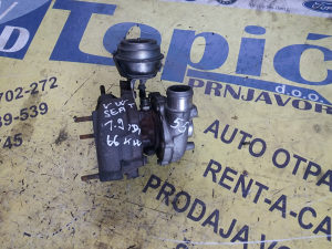 TURBINA VW 1.9TDI, 66kW / GT1749V / 028145702N