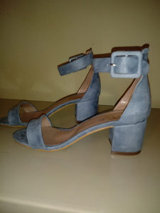 Nove baby blue plave sandale