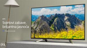 """Sony ANDROID 4K 65"""" UltraHD TV 65XF7596 Smart XF7596"""