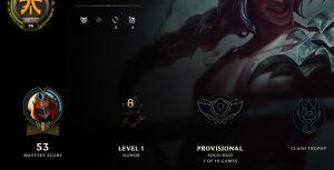 League of Legends account EUNE