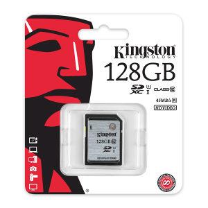 SD Kingston 128GB CL.10 / SD10VG2/128GB