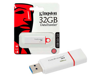 USB 3.1/3.0/2.0 Kingston 32 GB DTIG4