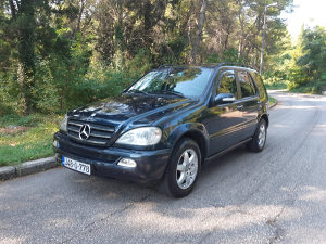 Mercedes-Benz Designo ML 500 LPG Plin