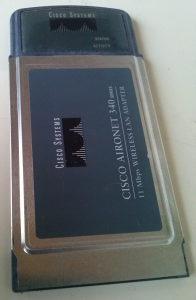 EXTERNA wireless kartica za laptop
