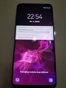 Samsung S9 plus DEMO