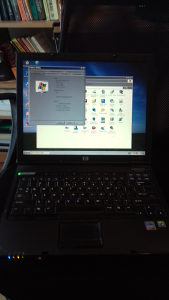 LAPTOP HP, 1,7 GHz, 1GB RAM, 100GB DISK