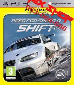 NEED FOR SPEED SHIFT PLATINUM za Playstation 3 PS3