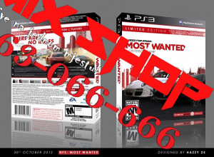 NEED FOR SPEED MOST WANTED LIMITED za Playstation 3 PS3