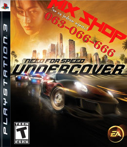 NEED FOR SPEED UNDERCOVER za Playstation 3 PS3