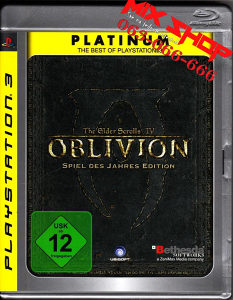 THE ELDER SCROLLS OBLIVION PLATINUM Playstation 3 PS3