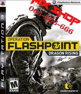 OPERATION FLASHPOINT DRAGON RISING Playstation 3 PS3