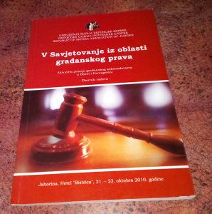 V Savjetovanje iz Oblasti Građanskog Prava