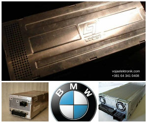 Logic 7 pojačalo za BMW -servis