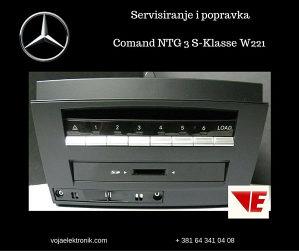 Navigacija Comand -Mercedes