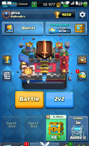 Account Clash Royale Challenger 1