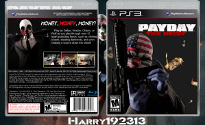 *ORIGINAL IGRA* PAYDAY THE HEIST za Playstation 3 PS3